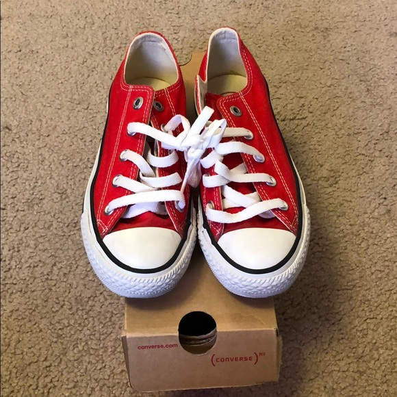 a83ce419d21d Converse Shoes - Red converse all star women s size 6